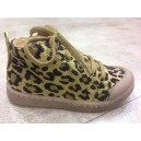 Ten C Mid Lace Leopardo Metal Gold-Black