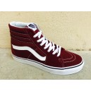 Sk8-Hi Madder Brown-True White